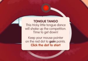Only now i know you can tango with your tongue