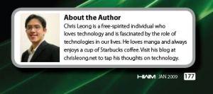 I'm on HWM Magazine | Chris Leong