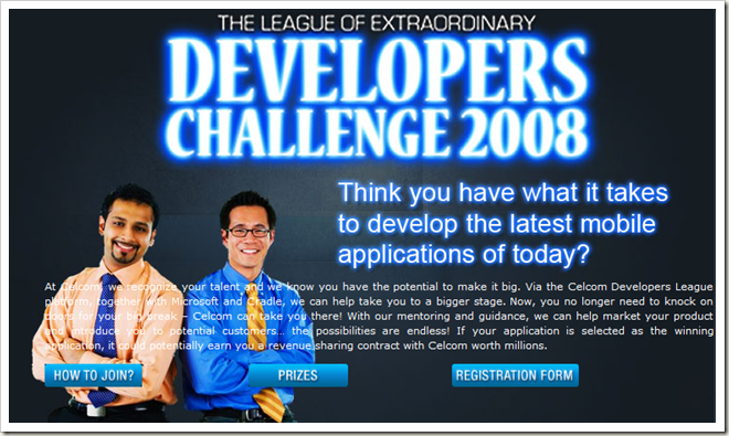 Celcom Developer Challenge