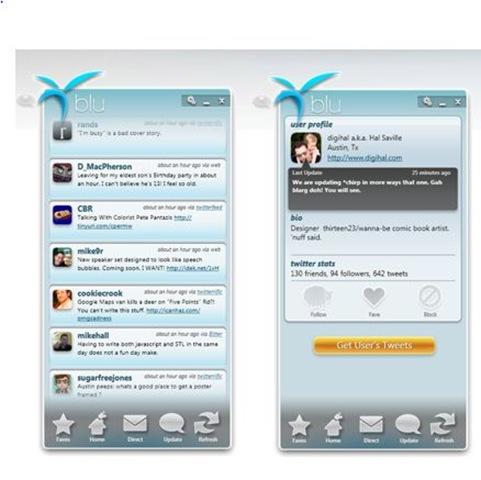 blu twitter tool